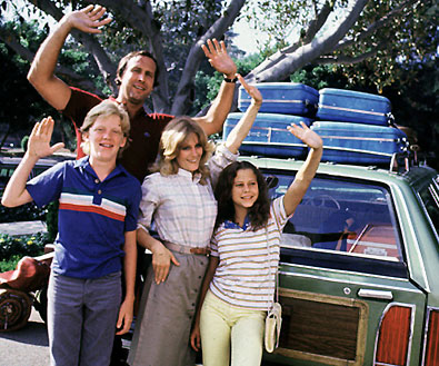 National Lampoon's Vacation chevy chase family vacation